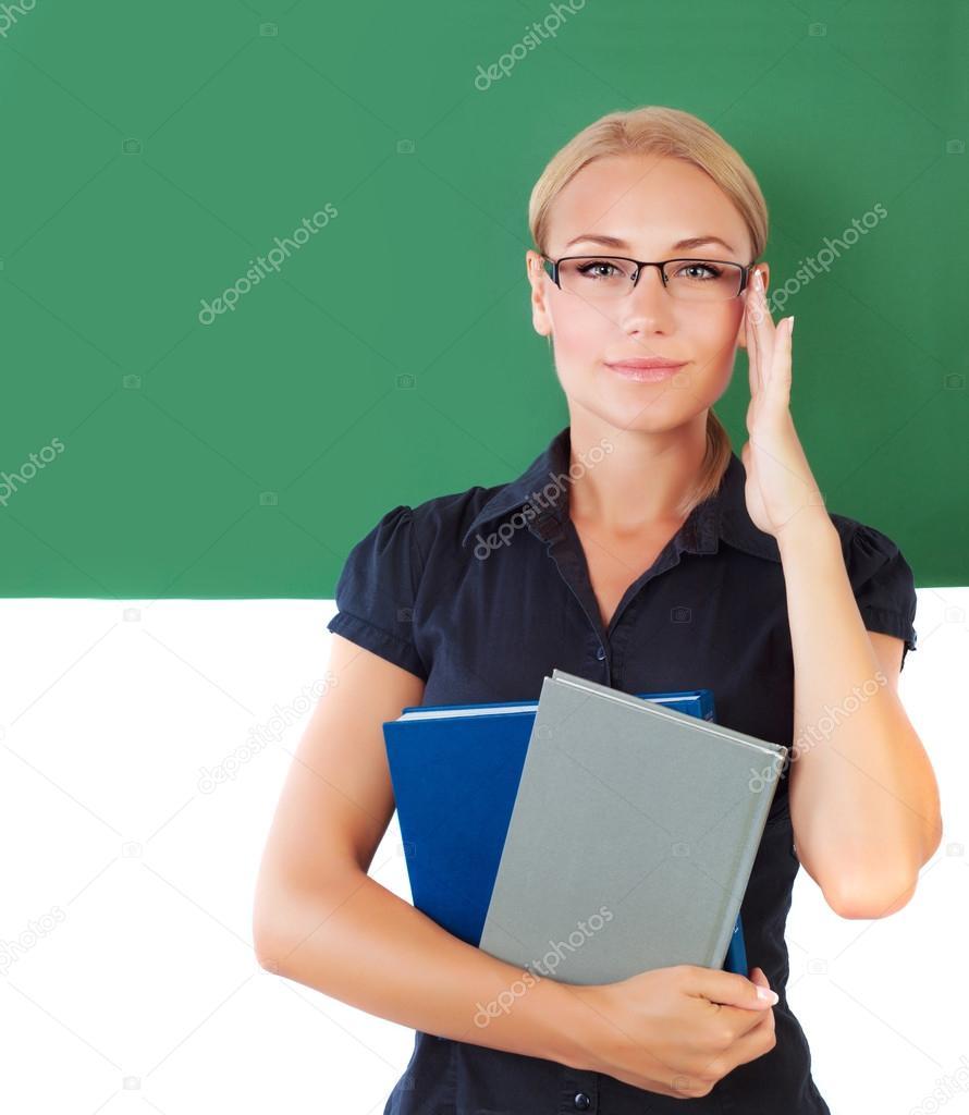 Студент с учительницей 7 фотография
