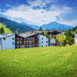 Village in the mountains — Foto Stock