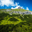 Beautiful green mountain — Stock Photo