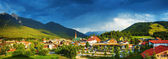 Little town in the mountains — Stock Photo
