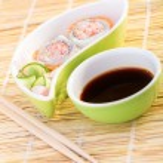 Fresh tasty sushi — Stock Photo