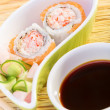 Stock Photo: Tasty sushi