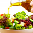Постер, плакат: Fresh salad with olive oil