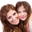 Mommy with teenage daughter — Stock Photo