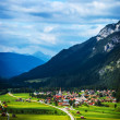Little village in the mountains — Stock Photo