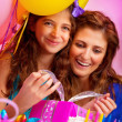 Girl's birthday celebrating — Stock Photo