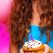 colorful birthday party — Stock Photo