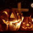 Creepy Halloween night — Foto de Stock