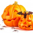 Halloween pumpkins — Stock Photo #33614295