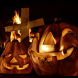 Halloween decorations — Stockfoto