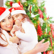 Happy Christmas celebration — Stock Photo #35025623