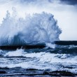 Stormy ocean waves — Stock Photo