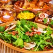 Fresh rocket salad — Stockfoto