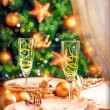 Christmas table setting — Stock Photo #35943659