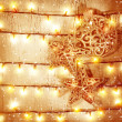 Golden Christmas background — Stock Photo #35945135