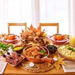 feestelijk diner — Stockfoto