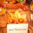 Happy Thanksgiving — Lizenzfreies Foto