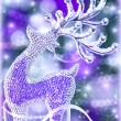 Reindeer Christmas decoration — Stock Photo #36372523