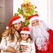 Christmas celebration at home — Stock Photo #36797001