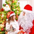 Happy Christmas celebration — Foto de Stock