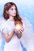 Pretty angel — Stock Photo