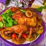 Tasty baked chicken — Stock Photo #37264321
