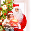 Christmas party for children — Stockfoto