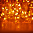 Merry Christmas greeting card — Stock Photo #37265367