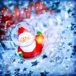 Magic Santa decoration — Stock Photo