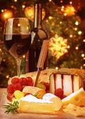 Christmas eve dinner — Stock Photo
