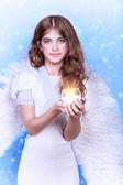 Cute angel — Stock Photo