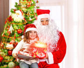 Christmas party for children — Stock Photo