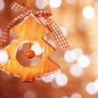 Christmas tree toy — Stockfoto