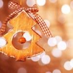 árvore de Natal brinquedo — Foto Stock