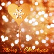 Christmastime greeting card — Stock Photo