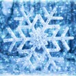 Abstract snowflake background — Stock Photo #37608443