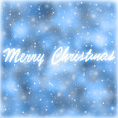 Merry Christmas greeting card — Stock Photo