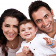 Happy young family — Stock Photo #38955389