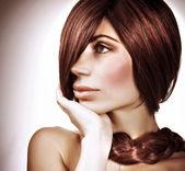 Gorgeous hairdo — Stock Photo