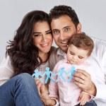 Happy healthy family — Stock Photo #39405303
