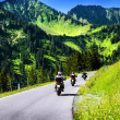 Group of travelling bikers — Stock Photo #41292293