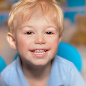 Cute smiling boy — Stock Photo