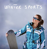 Winter sports — Stock Photo