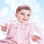 kleine engel in de hemel — Stockfoto