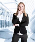 Successful business woman — Stock Photo