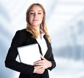 Smart business woman — Foto Stock
