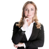 Confident business woman — Stock Photo