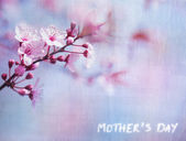 Mother's day greeting card — Stock Photo