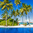 Luxury beach resort on an island — Stock Photo #43550937