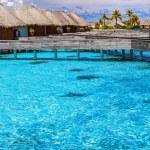 Luxury resort in Maldives — Stock Photo #43924197